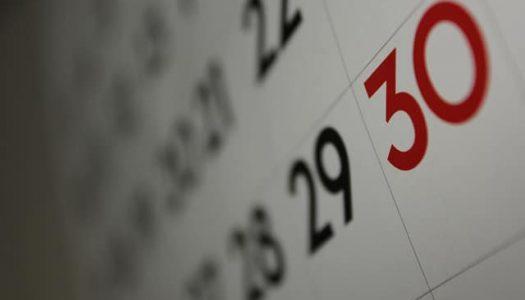 Baby maandkalender