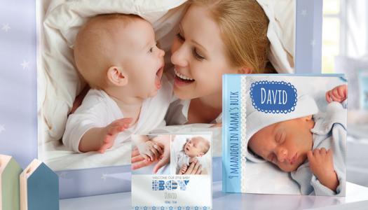 Boefjes actie: Fotoboeken en geboortekaartjes met 20% korting!